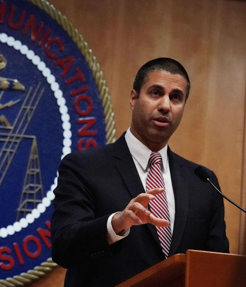 Head of FCC Ajit Pai