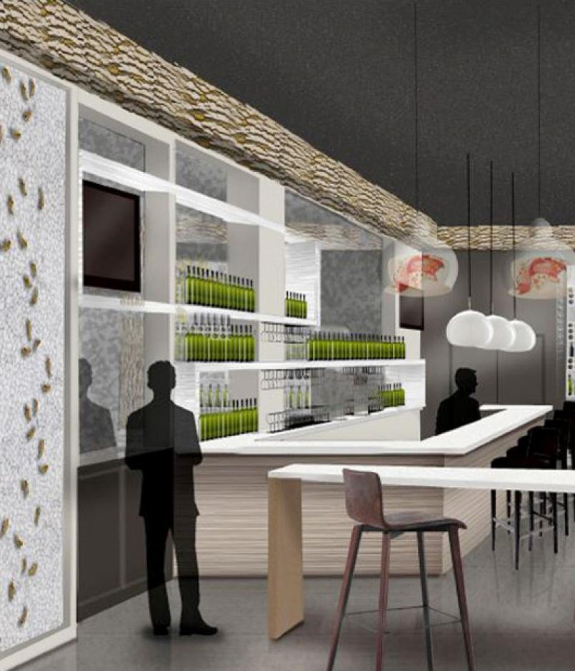 concept of retail space