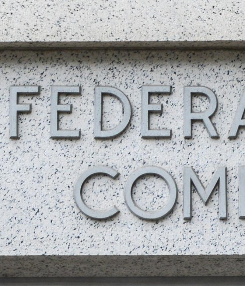 Federal Trade Commission sign