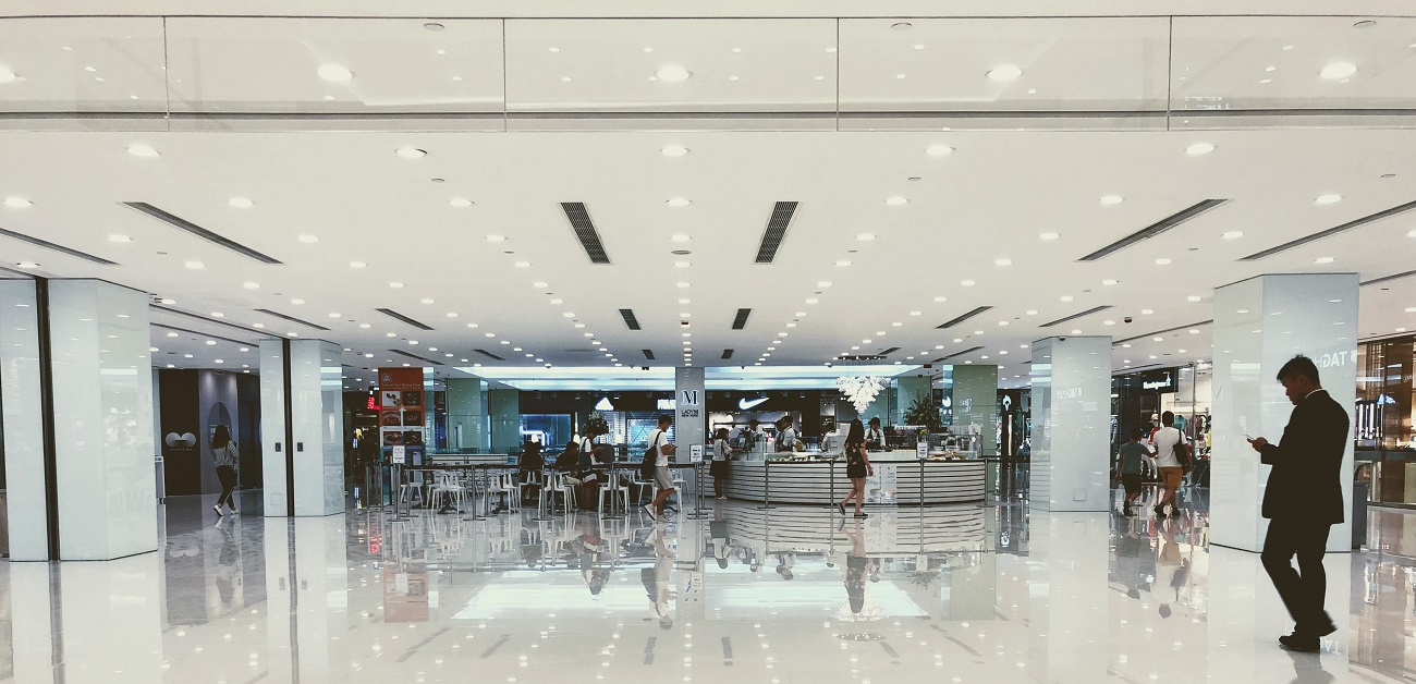 Store in mall