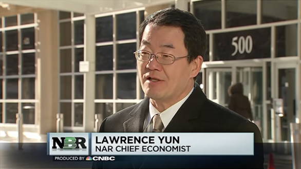 "Lawrence Yun appears on CNBC's ""Nightly Business Report"""
