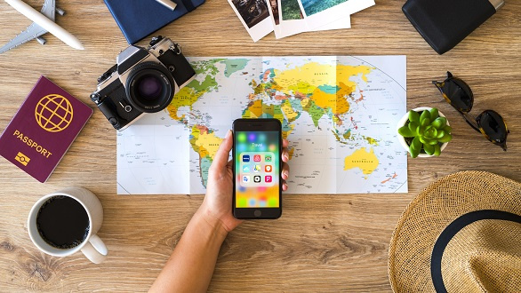 Planning a vacation with iPhone