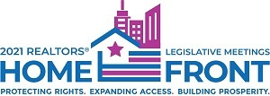 A graphic of the Homefront logo for the 2021 REALTORS® Legislative Meetings