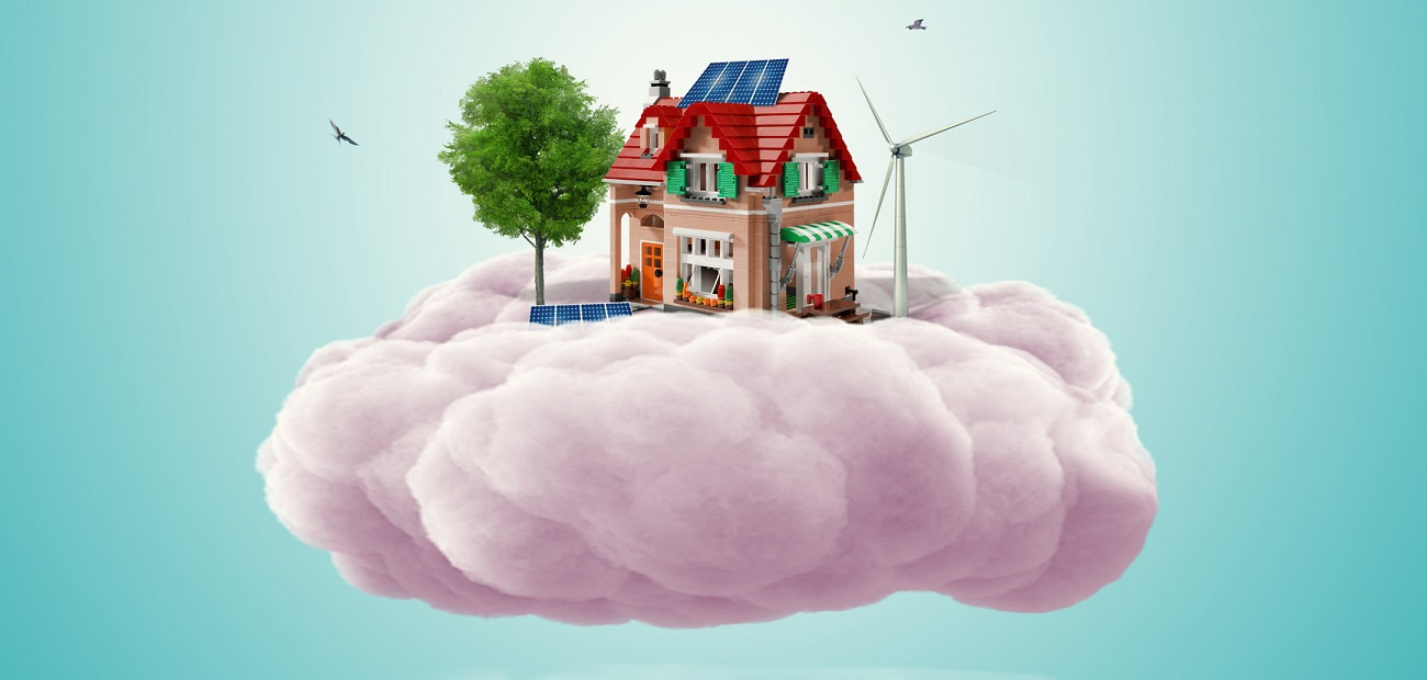 House on cloud