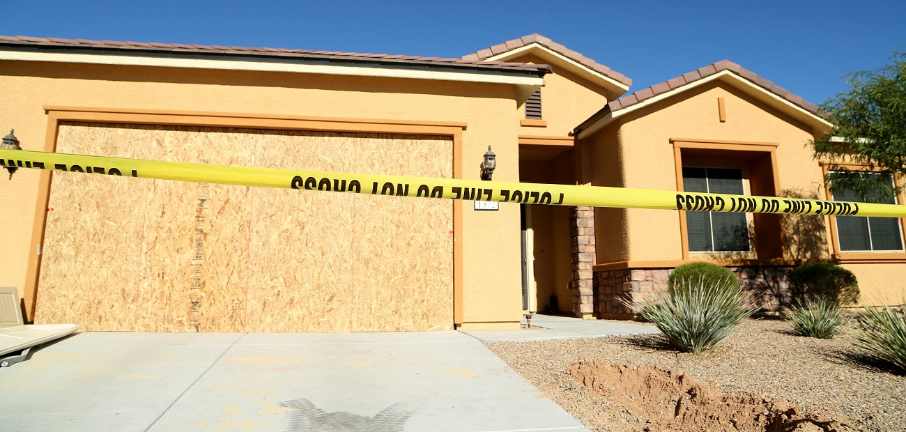 Las Vegas shooter Stephen Paddock's home