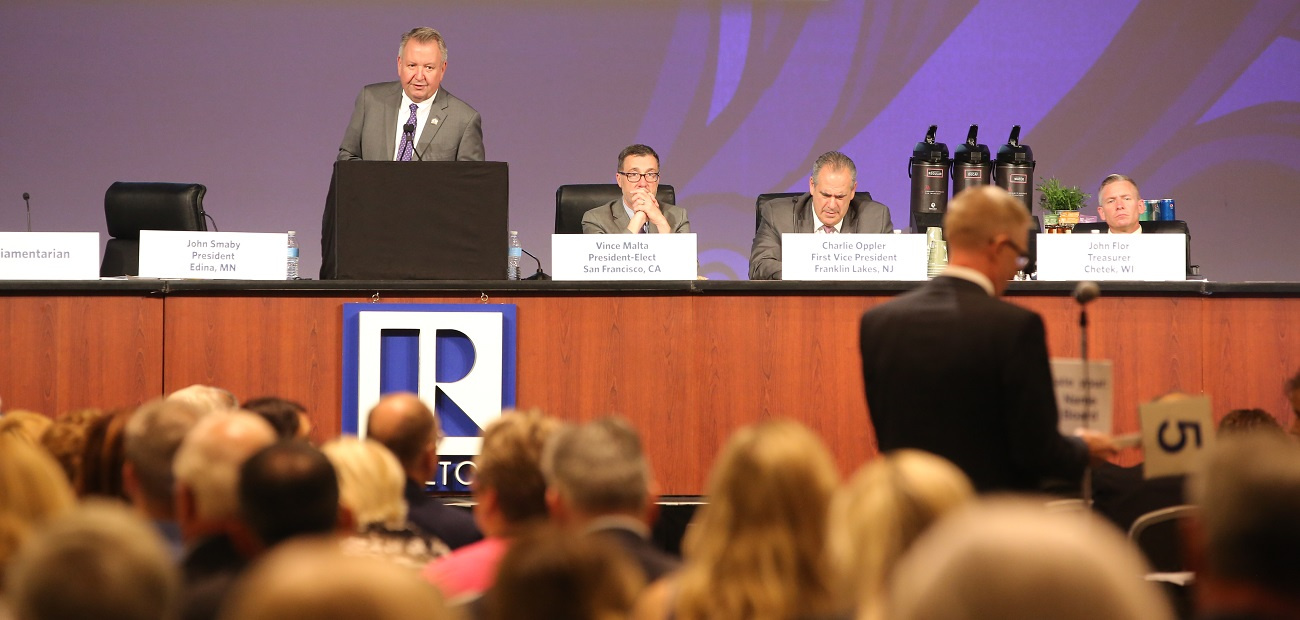 NAR Board of Directors meeting