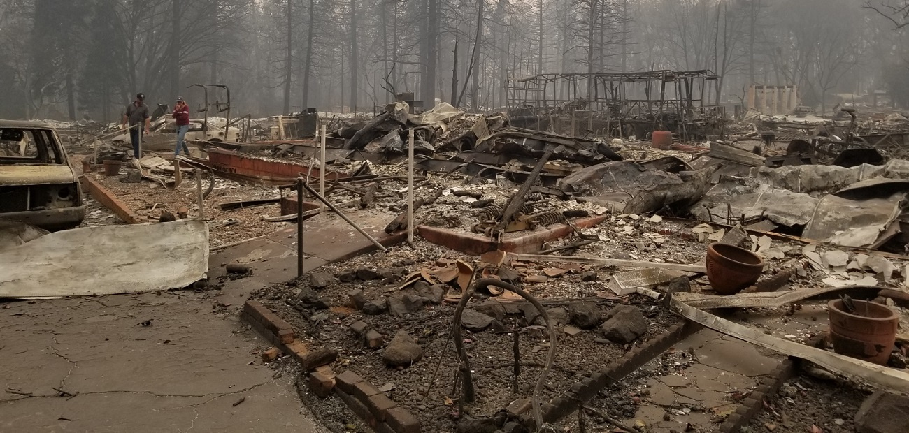 Residents in Paradise, Calif., are still sifting through the rubble in the wake of the Camp Fire.