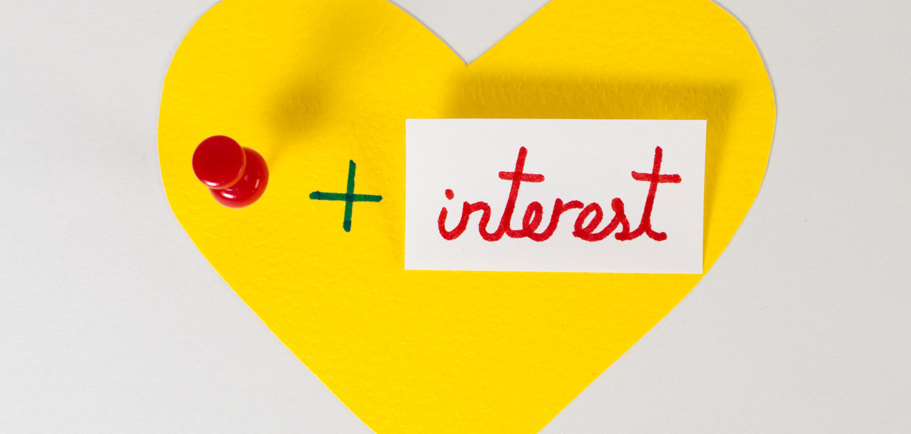 love pin + interest