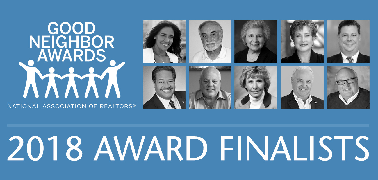 2018 Good Neighbor Finalists