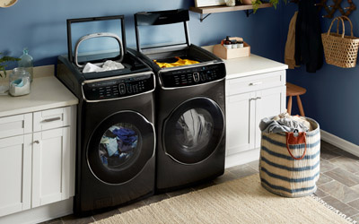 Samsung SmartCare Washer and Dryer