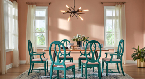 HGTV Home by Sherwin Williams color of the year, Romance