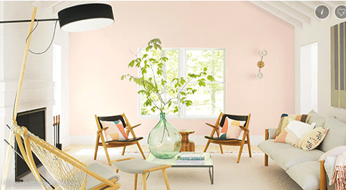 Benjamin Moore color of the year, First Light