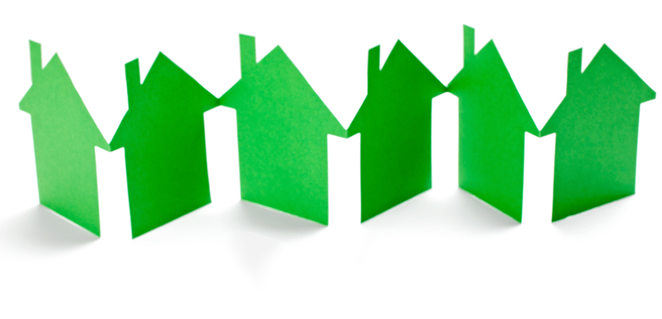 cut outs of homes