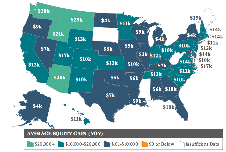 Map showing equity growth across the nation. Visit source link at the end of this article for more information.