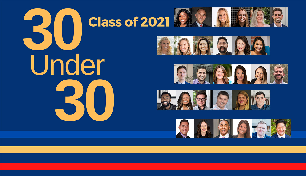 2021 Class of 30 Under 30
