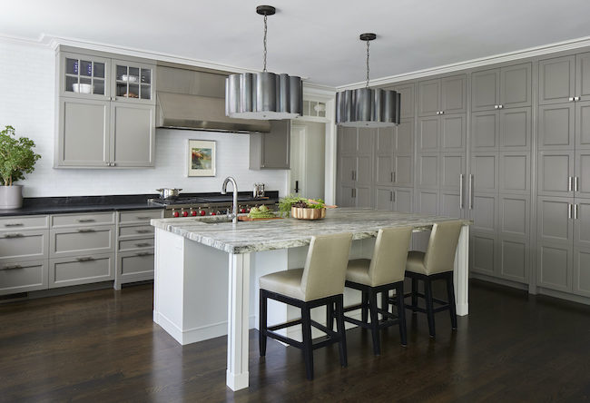 Longer kitchen island