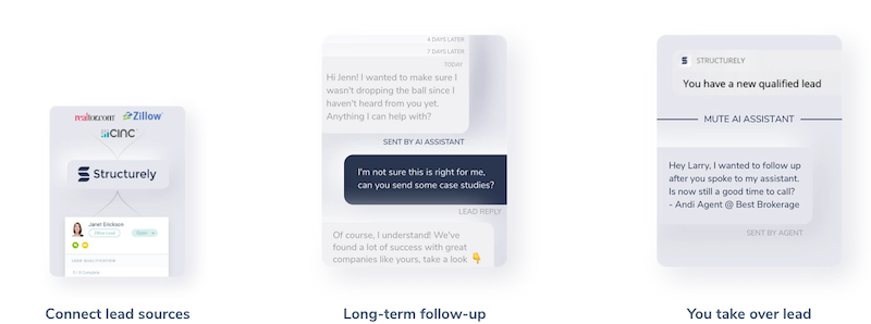 Structurely chatbot conversation examples