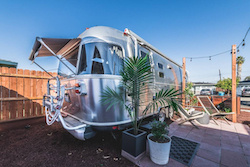Airstream camper rental
