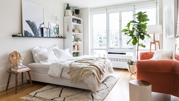 Bedroom design by Seth Caplan of Homepolish
