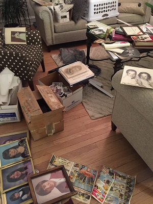 Beth Franken spent a year sorting and decluttering in preparation for her move.