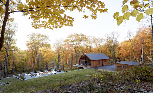 Modern, sustainable homes in the Catskills