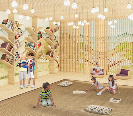 Flexible children's space by KTGY Architecture + Planning