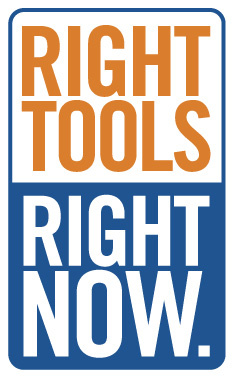 Right Tools, Right Now.