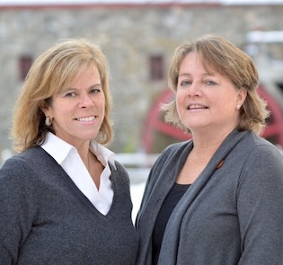 Laura Semple and Beth Hettrich