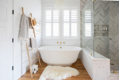 Rejuvenating bathroom design