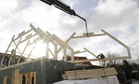 New home construction boom towns