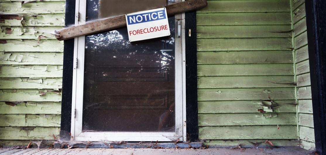 Foreclosure neglect