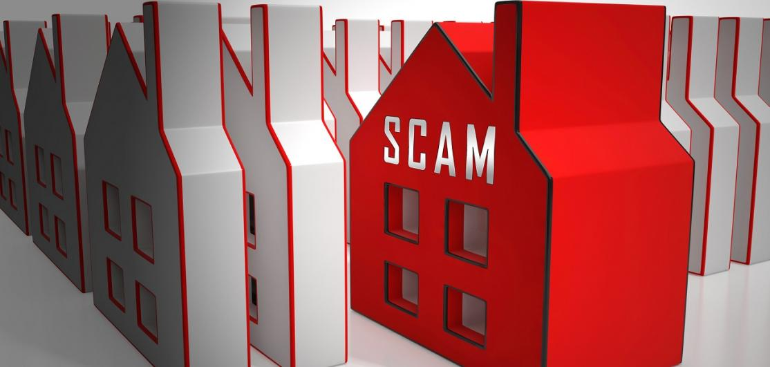 Property Scam Hoax Icon