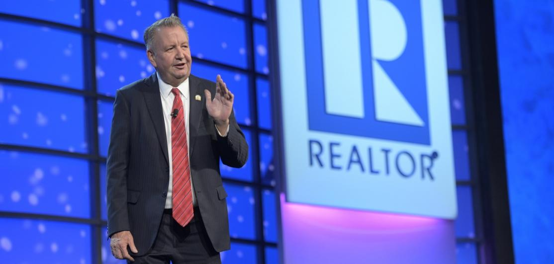 NAR President John Smaby at General Session