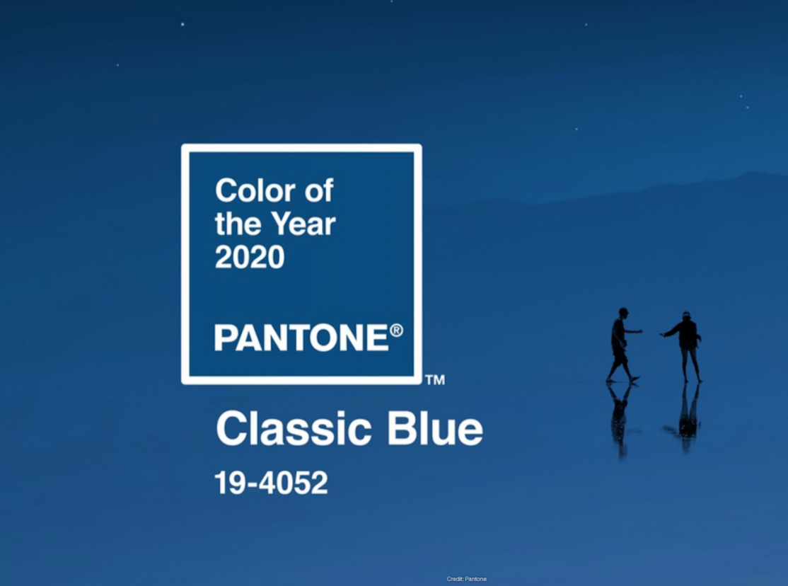 Pantone color choice for 2020