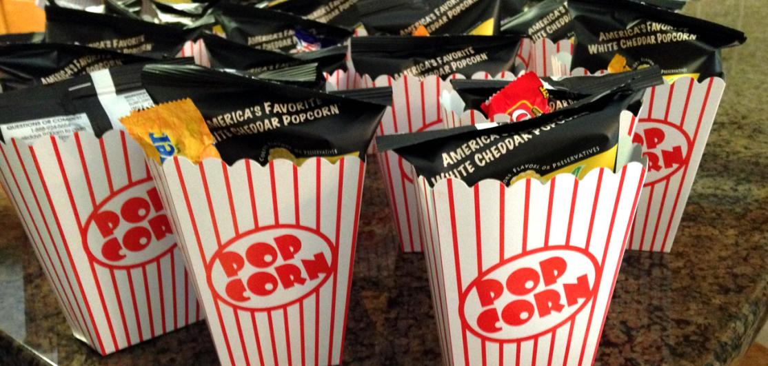 Madison Kazes hosts a movie premiere themed open house