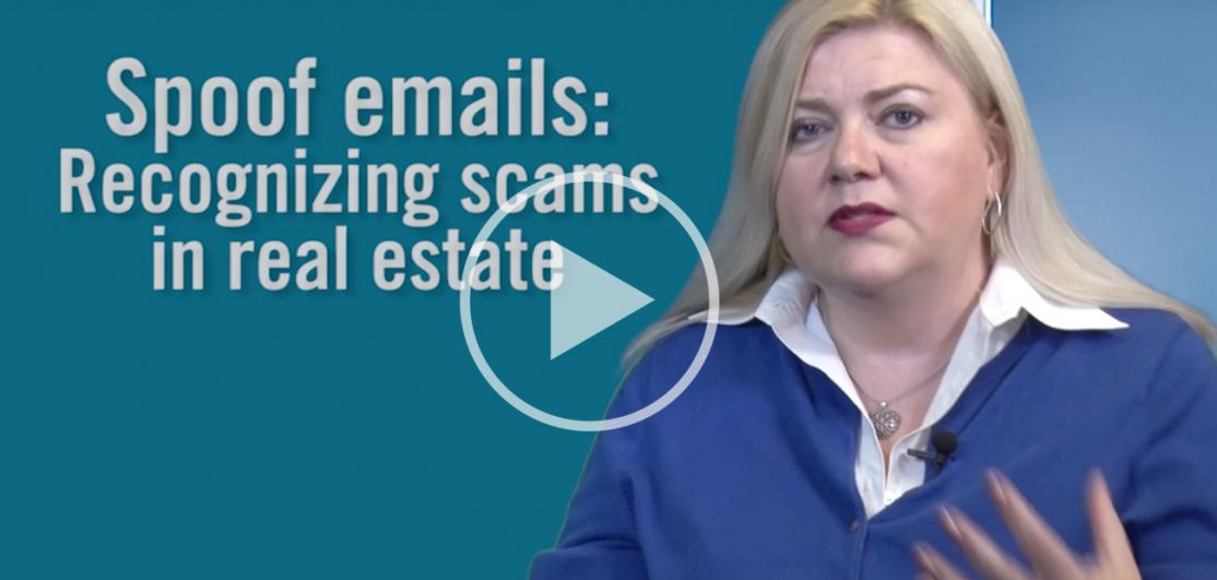 Liz Sturrock Spoof emails video