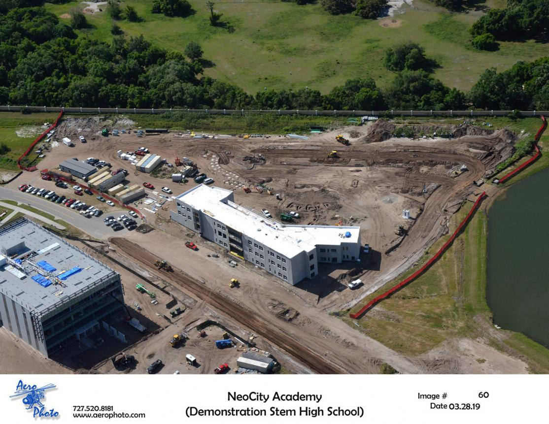 NeoCity Academy, slated to open in August, is a 500-student, demonstration STEM high school in Kissimmee, Fla.