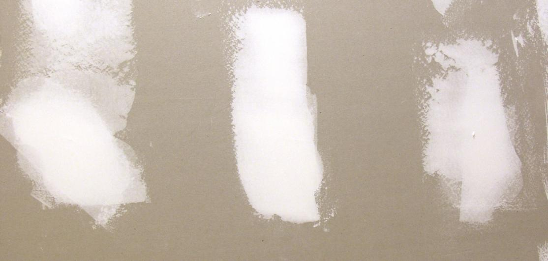 A section of drywall