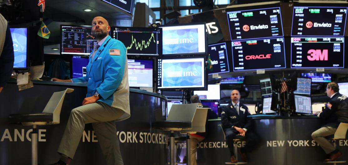 Stock Markets React To Federal Reserve Announcement On Interest Rates