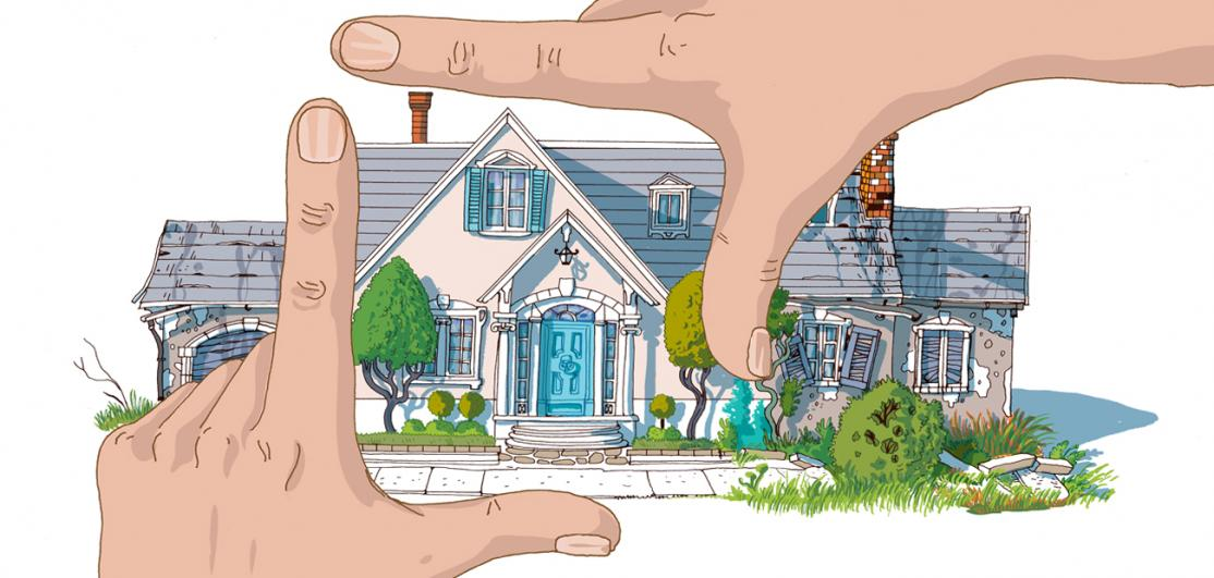 picturing remodeling potential in a home