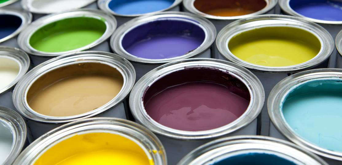 cans of paint