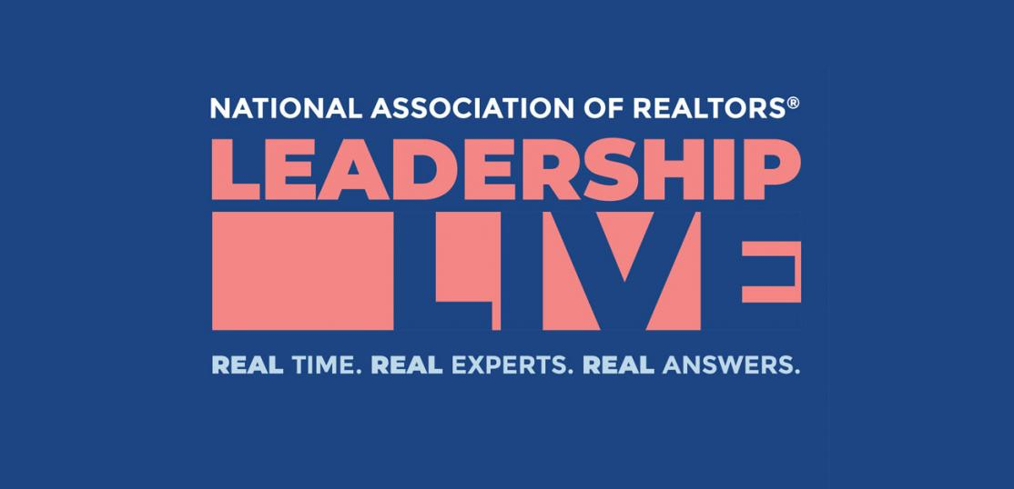 NAR Leadership Live title art