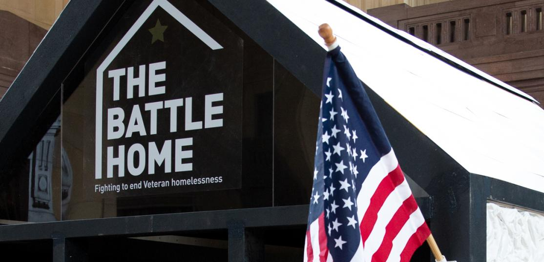 The Battle Home Pop Up Installation