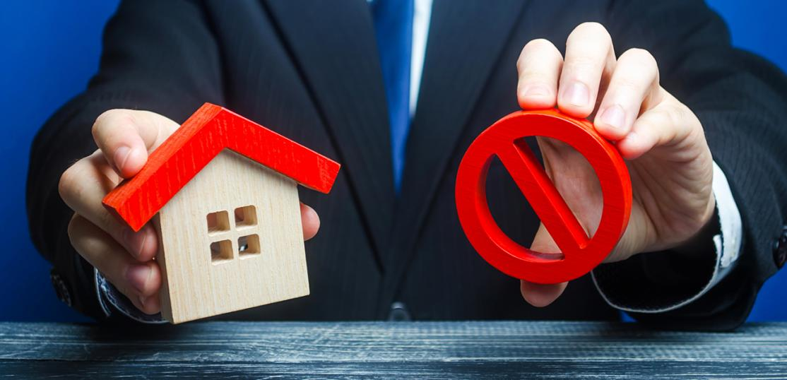 mortgage loan not approved