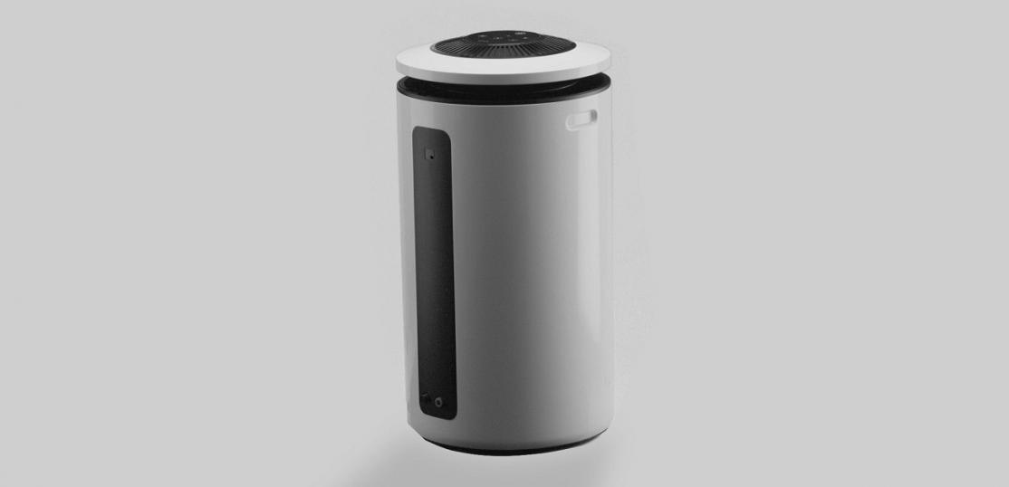CleanAirZone's air purifier
