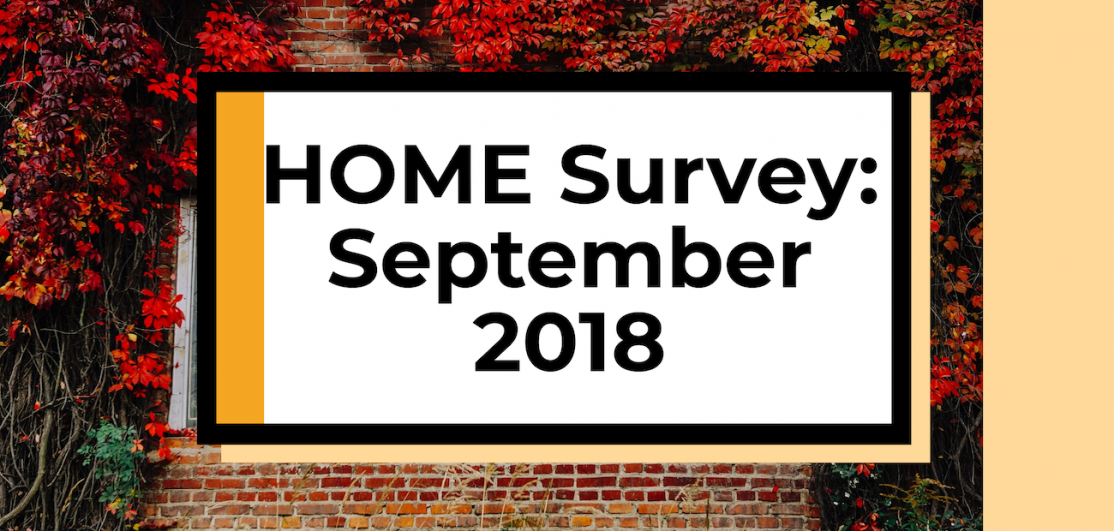 Cover image from NAR's HOME Survey in the third quarter