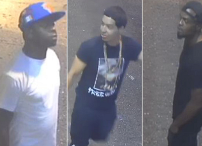 Suspects caught on surveillance video