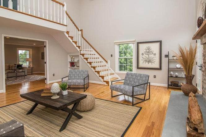 Staged to Sell: A Country Estate in Gaithersburg, Md