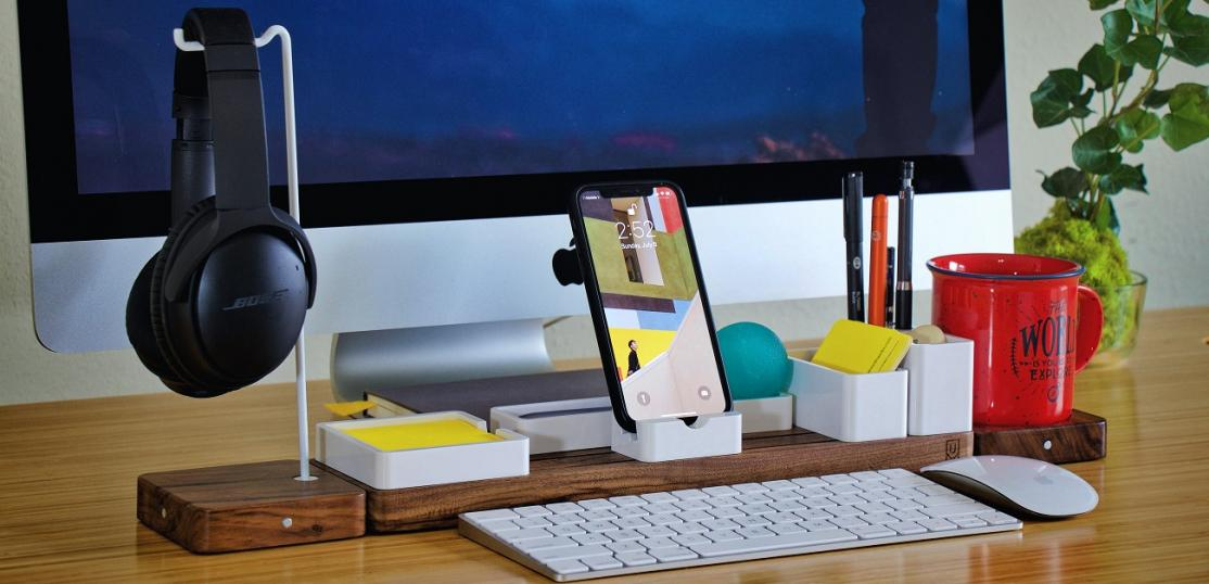 Desktop with gadgets