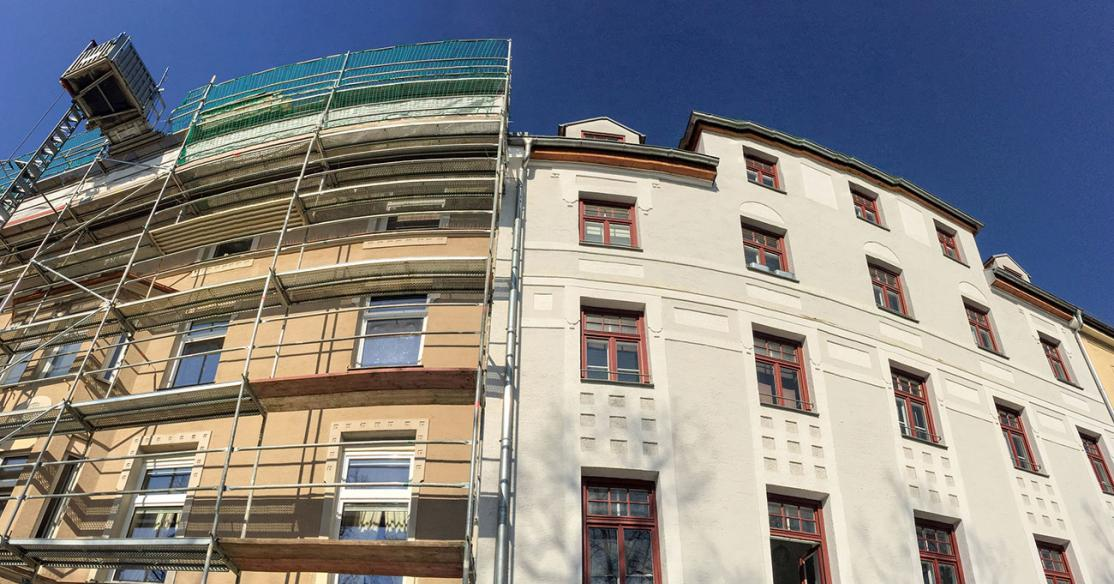Residential Building Before & After